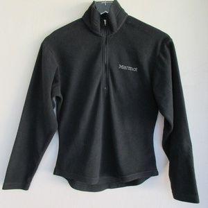 Marmot Women's Half Zip XS Fleece Pullover Black